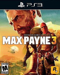 Max Payne 3 - Ps3 - Mídia Digital