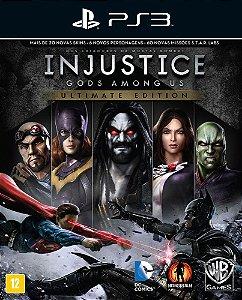 Injustice: Gods Among Us Ultimate Edition - Ps3 - Mídia Digital