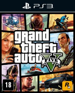 Grand Theft Auto V - Ps3 - Mídia Digital