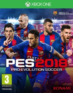 Pro Evolution Soccer 2018 - Xbox One - Mídia Digital