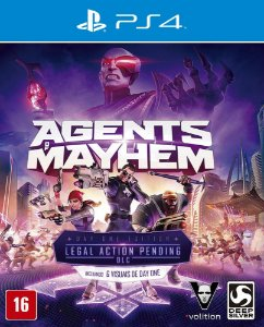 Agents of Mayhem - Ps4 - Mídia Digital