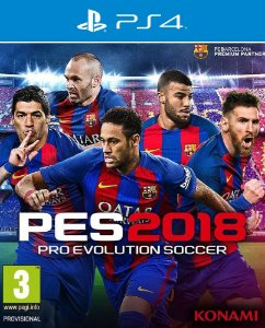 PES 2018: Pro Evolution Soccer - Ps4 - Mídia Digital