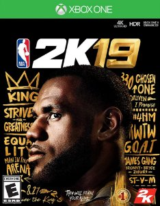 NBA 2K19 - Xbox One - Mídia Digital