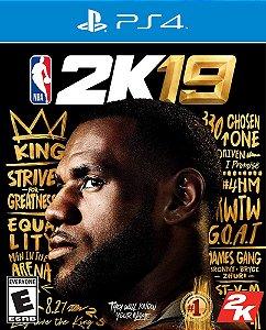 NBA 2K19 - PS4 - Mídia Digital