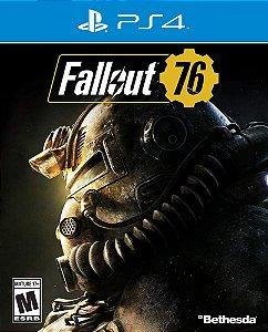 Fallout 76 - PS4 - Mídia Digital