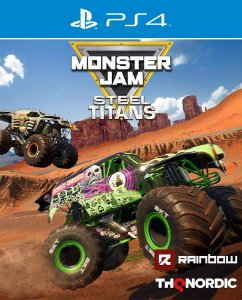 Monster Jam: Steel Titans - PS4 - Mídia Digital