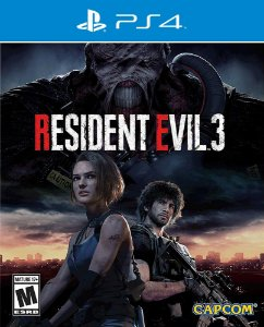 Resident Evil 3 Remake - PS4 - Mídia Digital