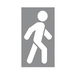 Gabarito para Pintura - Pedestre