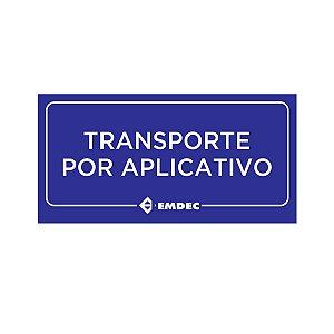 Placa - Par Manta Magnetica Transporte Aplicativo Uber 99 30x15