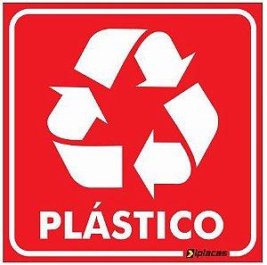 Placa de Sinalização - Plástico