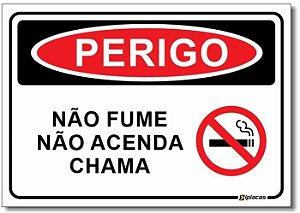 Perigo - Não Fume, Não Acenda Chama