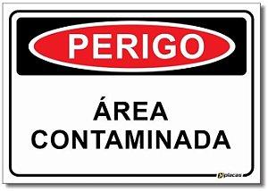 Perigo - Área Contaminada
