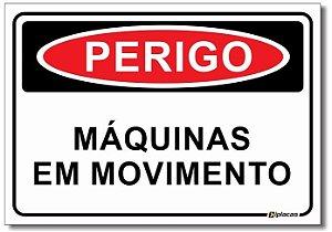 Perigo - Máquinas em Movimento