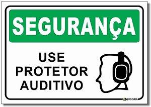 Segurança - Use Protetor Auditivo