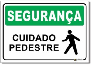 Segurança - Cuidado Pedestre