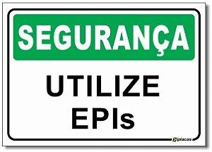Segurança - Utilize EPIs