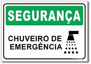 Segurança - Chuveiro de Emergência
