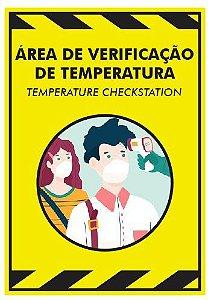 Placa - Área de Verificação de Temperatura