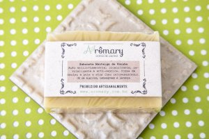Sabonete Natural Açafrão e Manteiga de Ucuúba
