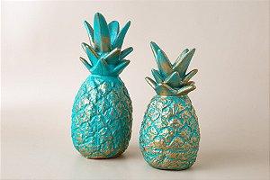 Escultura Abacaxi Decor Glass G