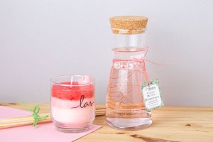 Difusor c/ Vela Flor de Cerejeira e Chá Branco - 400 ml