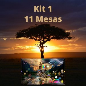 Kit 1 - ( 11 Mesas de Umbanda ) - ( Grf )