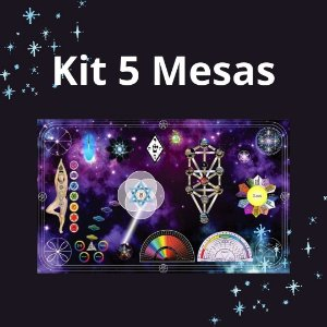 Kit 1 - 5 Mesas MQE