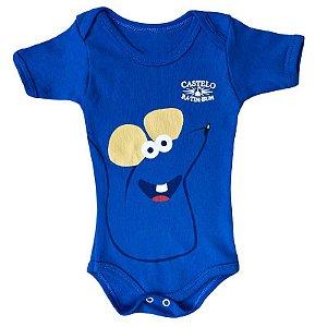 Body Bebê Ratinho Castelo Rá-Tim-Bum