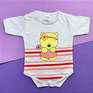 Body Bebê Basico Lilás Menina