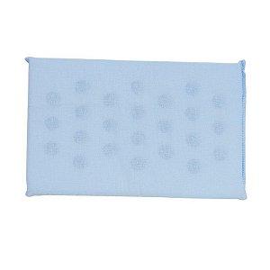 Travesseiro Espuma com Furos Azul