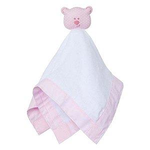 Naninha Toys Urso Rosa