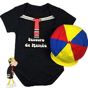 Kit Body Bebê Kiko Tesouro da Mamãe com Boina