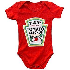 Body Bebê Molho Ketchup