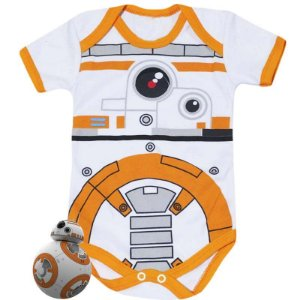 Body Bebê BB08 Star Wars