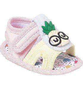 Sandalia Bebê Abacaxi Candy Colors