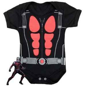 Body Bebê Homem Formiga