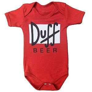 Body Bebê Os Simpsons Duff Bear