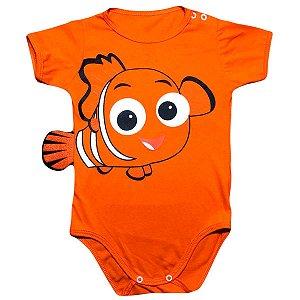 Body Bebê Luxo Procurando Nemo com Cauda