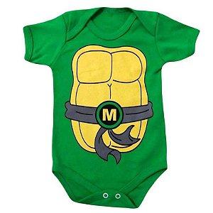 Body Bebê Tartarugas Ninja