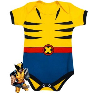 Body Bebê Wolverine