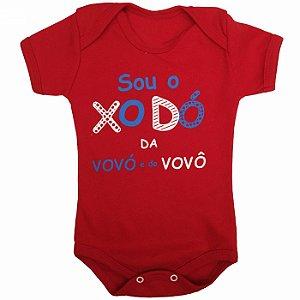 Body Bebê Sou o Xodó da Vovó e do Vovô