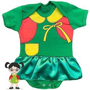 Body Vestido Bebê Chiquinha