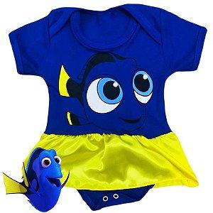 Body Vestido Procurando Nemo Dory
