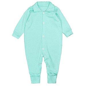 Macacão Bebê Básico Verde