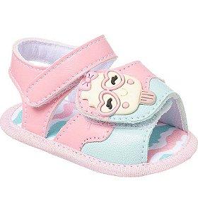 Sandália Bebê Sorvete Candy Colors Rosa