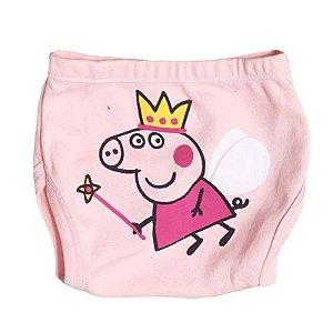 Tapa Fralda Malha Peppa Pig