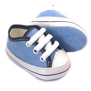 Tênis Bebê Azul Jeans