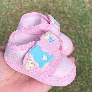 Tênis Bebê Sorvete Candy Colors