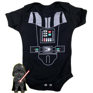 Body Bebê Star Wars Darth Vader