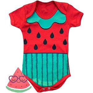 Body Bebê Frutinhas Melancia